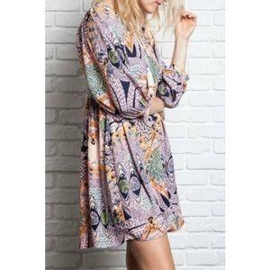 Umgee Bohemian Tunic/Babydoll Dress
